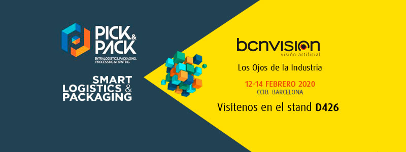 Bcnvision en Pick&Pack2020
